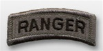 ACU Tab with Hook Closure:  RANGER