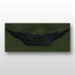 US Army Breast Badge Subdued Fatigue: Aviator - OBSOLETE! AVAILABLE WHILE SUPPLIES LAST!