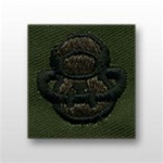 US Army Breast Badge Subdued Fatigue: Diver SCUBA - OBSOLETE! AVAILABLE WHILE SUPPLIES LAST!