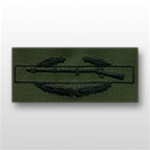 US Army Breast Badge Subdued Fatigue: Combat Infantry 1st Award - OBSOLETE! AVAILABLE WHILE SUPPLIES LAST!