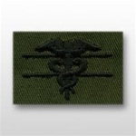 US Army Breast Badge Subdued Fatigue: Expert Field Medical - OBSOLETE! AVAILABLE WHILE SUPPLIES LAST!