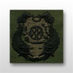 US Army Breast Badge Subdued Fatigue: Diver 1st Class - OBSOLETE! AVAILABLE WHILE SUPPLIES LAST!