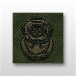 US Army Breast Badge Subdued Fatigue: Diver 2nd Class - OBSOLETE! AVAILABLE WHILE SUPPLIES LAST!