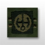 US Army Breast Badge Subdued Fatigue: Basic Nuclear Reactor Operator - OBSOLETE! AVAILABLE WHILE SUPPLIES LAST!
