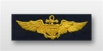 US Navy Breast Badge For Coveralls: Aviator