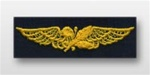 US Navy Breast Badge For Coveralls: Aviation Supply Officer