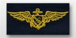 US Navy Breast Badge For Coveralls: Astronaut