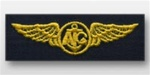 US Navy Breast Badge For Coveralls: Aircrew