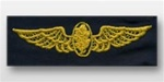 US Navy Breast Badge For Coveralls: Aviation Physiologist