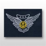 US Navy Breast Badge For Coveralls: Combat Aircrew
