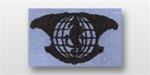 US Navy Badge For Utility Shirt: Integrated Undersea Surveillance Enlisted (IUSS)