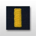 US Navy Coverall Collar Device:  O-1 Ensign (ENS)