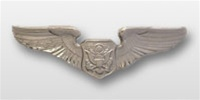 USAF Breast Badge - Mirror Finish Regulation Size: Officer Aircrew Member
