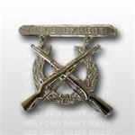 USMC Regulation Breast Insignia: Rifle Expert - Mirror Finish