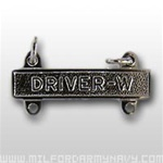 US Army Mirror Finish Qualification Bar: Driver W
