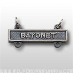 US Army Oxidized Qualification Bar: Bayonet