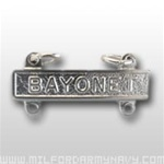 US Army Mirror Finish Qualification Bar: Bayonet