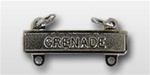 US Army Mirror Finish Qualification Bar: Grenade