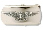 US Navy Buckle for Male Personnel: Air Warfare - Enlisted - 3""
