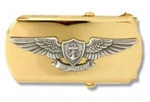 US Navy Buckle for Male Personnel: Air Warfare - CPO - 3""