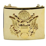 US Army Belt Buckle: Enlisted Ceremonial Buckle - For Male or Female