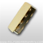 USMC Belt Tip: 24k to be also used with Anodized Buckle (tip only) - MALE