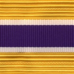 US Army Cap Braid with Specialty for Officer:  CIVIL AFFAIRS