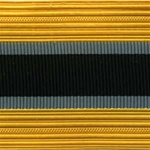 US Army Cap Braid with Specialty for Officer:  INSPECTOR GENERAL