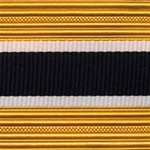 US Army Cap Braid with Specialty for Officer:  JUDGE ADVOCATE