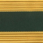 US Army Cap Braid with Specialty for Officer:  STAFF SPECIALIST
