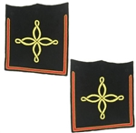 USMC Cuff Boards: Company Grade - Male - Bullion
