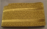 "USCG Sleeve Lace - 34"" of 2"" - cut set - Gold Synthetic: Rear Admiral Lower"