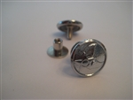 USAF Honor Guard: 25/L Mirror Finish Hap Arnold Cap Screw Buttons