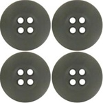 US Army Buttons: ACU Buttons - 30 Ligne - Set of 4 Buttons - Also for ABU