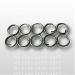 Button Rings: Metal - Set of 10