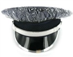 US Army Cap Accessory: Rain Cover - Female - Clear No Visor