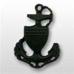 USCG Miniature Cap Device - Black Metal: Chief Petty Officer E7