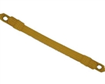 "US Army Cap Accessory: Cap Strap - Specification Gold Officer - 1/2"" Gold Wire"