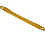 US Army Cap Accessory: Cap Strap - Synthetic Gold Officer 1/2""