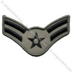 USAF Chevron - ABU: E-3 Airman First Class (A1C) - Large - Male