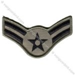 USAF Chevron - ABU: E-3 Airman First Class (A1C) - Small - Female