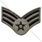 USAF Chevron - ABU: E-4 Senior Airman (SrA) - Small - Female