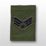 USAF Enlisted GoreTex Jacket Tab: E-4 Senior Airman (SrA) - For BDU