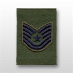USAF Enlisted GoreTex Jacket Tab: E-6 Technical Sergeant (TSgt) - For BDU