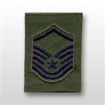 USAF Enlisted GoreTex Jacket Tab: E-7 Master Sergeant (MSgt) - For BDU