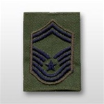 USAF Enlisted GoreTex Jacket Tab: E-8 Senior Master Sergeant (SMSgt) - For BDU