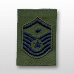 USAF Enlisted GoreTex Jacket Tab: E-7 Master Sergeant (MSgt) with Diamond - For BDU
