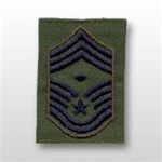 USAF Enlisted GoreTex Jacket Tab: E-9 Chief Master Sergeant (CMSgt) with Diamond - For BDU