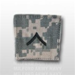 US Army ACU Rank with Hook Closure: E-2 Private (PV2)