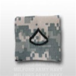 US Army ACU Rank with Hook Closure: E-3 Private First Class (PFC)